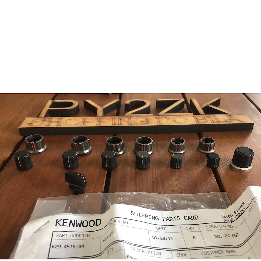 KENWOOD KNOBS BOTOES PARA TS 850