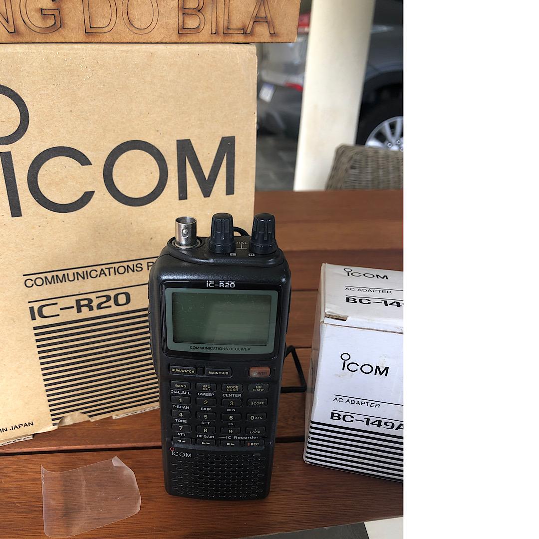 RECEPTOR ICOM IC R20