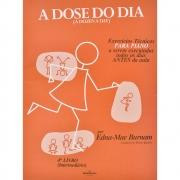 A Dose Do Dia Capa Marrom Intermediário Livro 4, Piano, Edna Mae Burnam