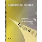 Caderno De Música Espiral - Grande