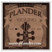 Corda Lá Plander Perlon e Alumínio para Violino 4/4