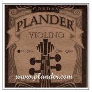 Corda Mi Plander Aço para Violino 4/4