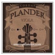 Corda Ré Plander Perlon/Alumínio para Viola
