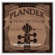 Corda Sol Plander Aço/Cromo para Violoncelo