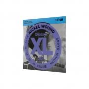 Encordoamento Guitarra Daddario Exl 115-B  Xl Nickel 11-49 + Corda 1ª Grátis