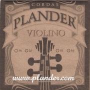 Jogo de Cordas Plander Nylon Violino 1/2