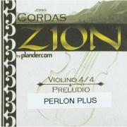 Jogo De Cordas Zion Preludio Perlon Plus Violino 4/4