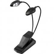 Luminária Fzone FL9025 com Duas Cabeças e Quatro Leds com Cabo USB