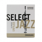 Palheta Rico Select Jazz Filed Sax Soprano 2 Soft Valor Unitário