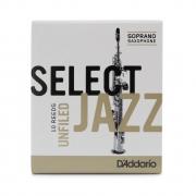Palheta Rico Select Jazz Filed Sax Soprano 3 Medium - Valor Unitário