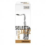 Palheta Rico Select Jazz Unfiled Sax Tenor 3 Hard - Valor Unitário