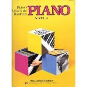 Piano Básico De Bastien - Piano Nivel 4