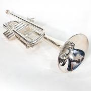 Trompete Sib Zion Prateado Usado