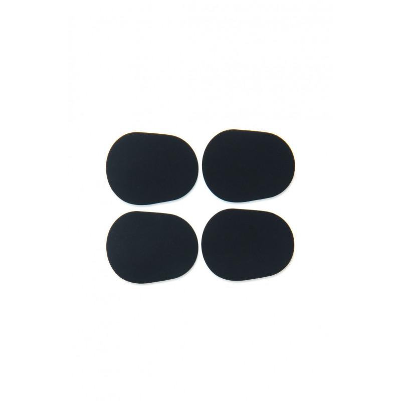 Adesivo Protetor Zion 3m Preto Boquilha Sax Alto E Tenor (Kit Com 4 Unidades)