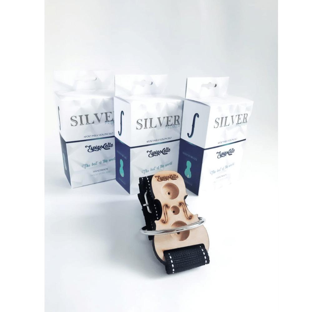 Apoio de Chão Para Violoncelo Silver Premier Espigocello Made In Brasil
