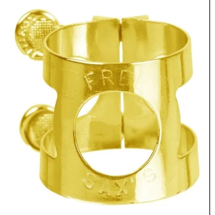 Braçadeira Freesax Dourada Sax alto Massa