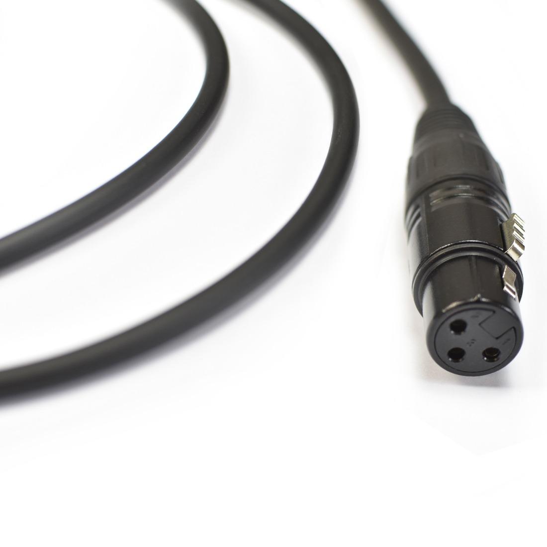 CABO DE MICROFONE 0,20MM CONECTORES P10 X XLRF MOD NINJAHG B 10FT/3.05