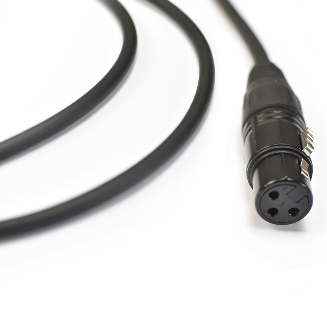 CABO DE MICROFONE 0,20MM CONECTORES XLRM X XLRF MOD NINJALW B 10FT/3.0