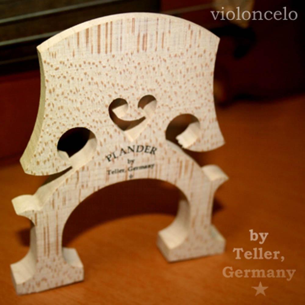 Cavalete Plander By Teller * Alemão Modelo Bausch Violoncelo 4/4