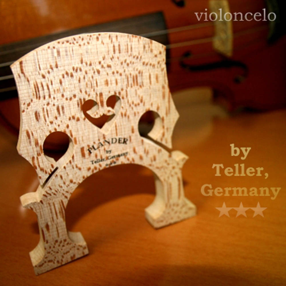 Cavalete Plander By Teller *** Alemão Modelo Panpi Violoncelo 4/4