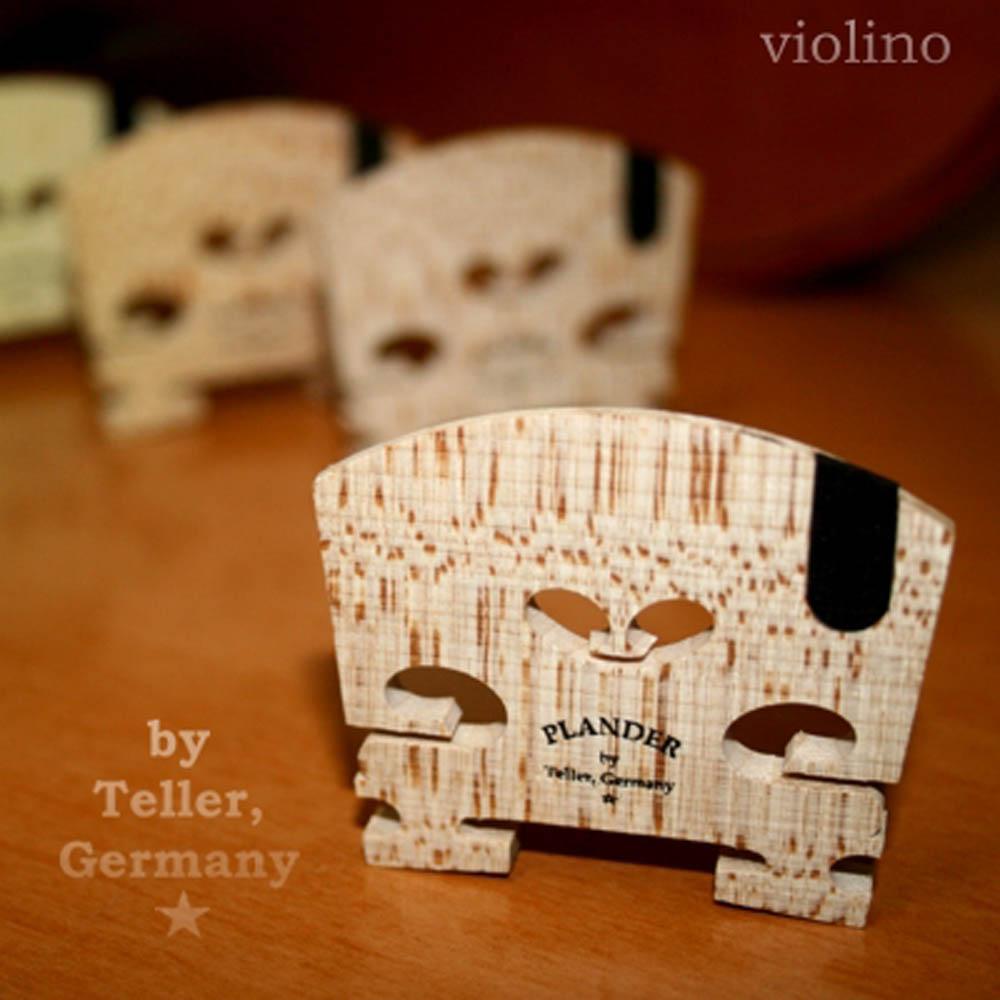 Cavalete Plander By Teller * Alemão Violino 4/4 com Ébano na Corda Mi