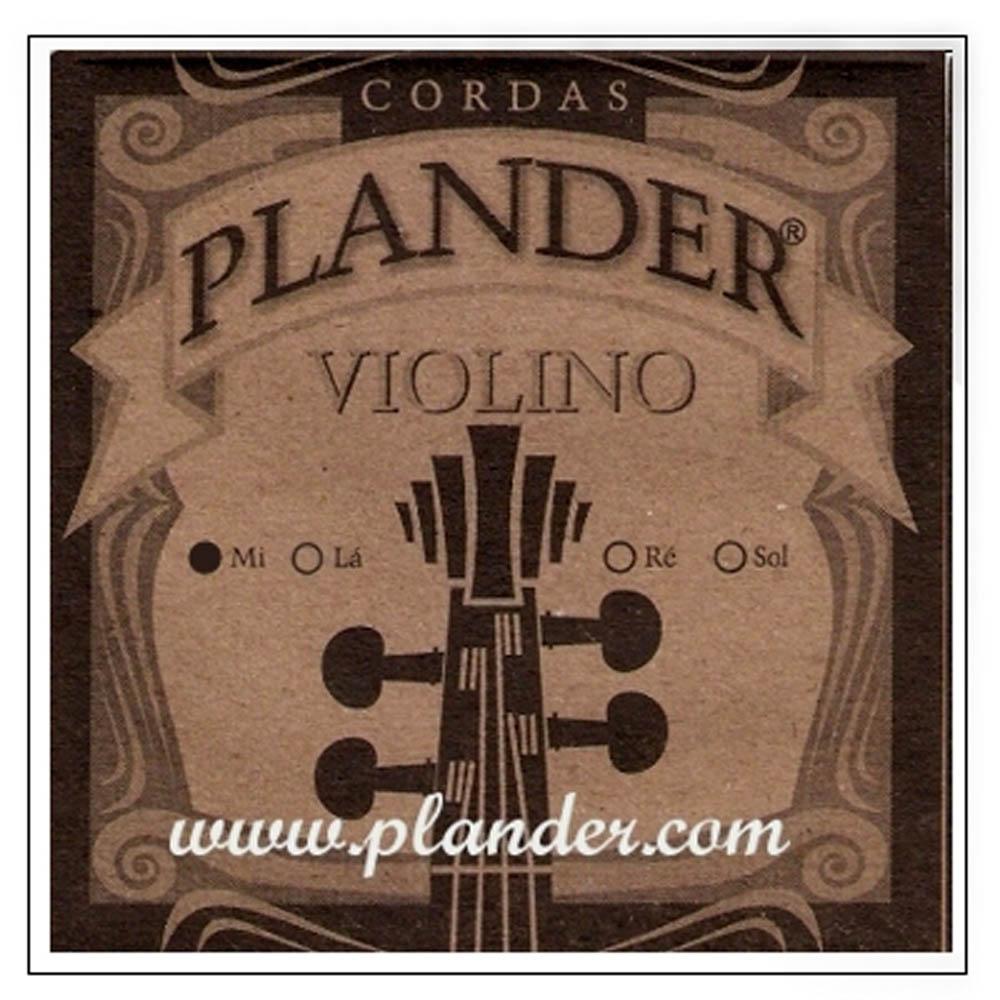 Corda Mi Plander Aço para Violino 1/2