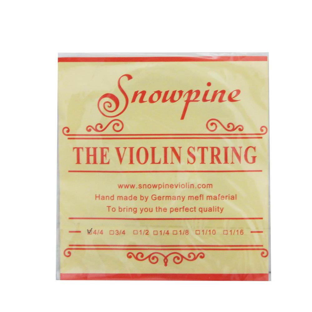 Corda Mi Snowpine Aço Violino 4/4