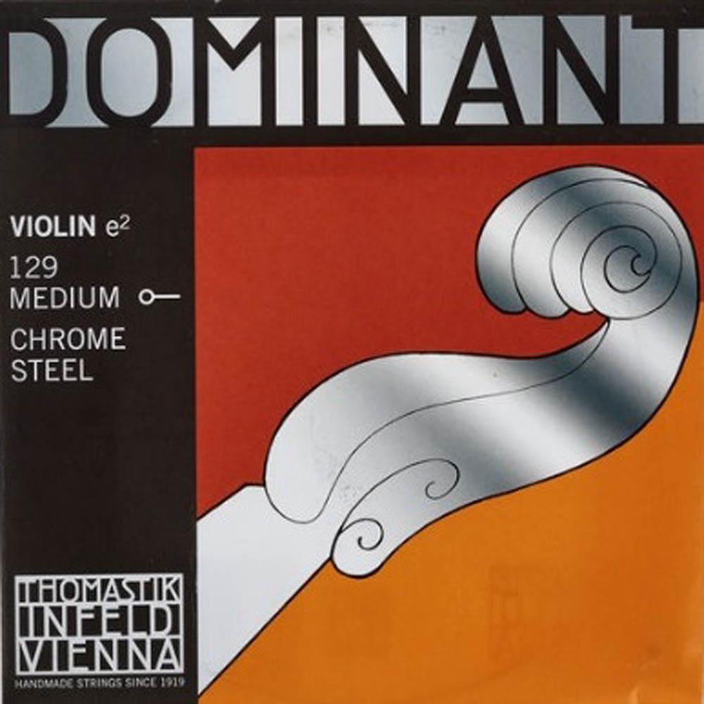 Corda Mi Thomastik Dominant 129 Violino 4/4 Aço Luthier
