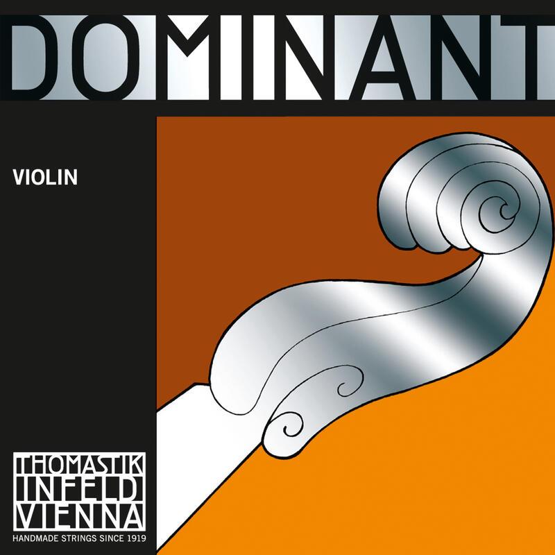 Corda Mi Thomastik Dominant 129SN Violino 4/4 Aço Carbono Banhada à Estanho Luthier