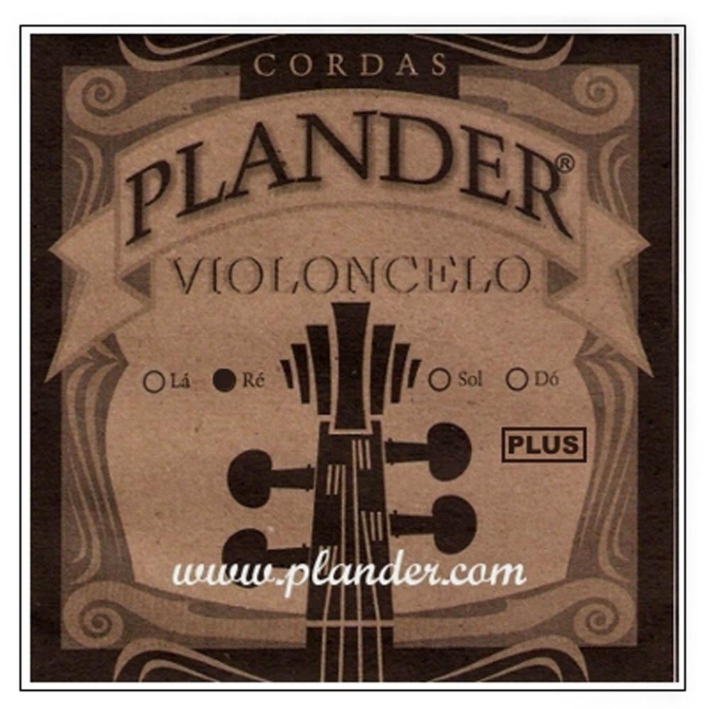 Corda Ré Plander Plus para Violoncelo