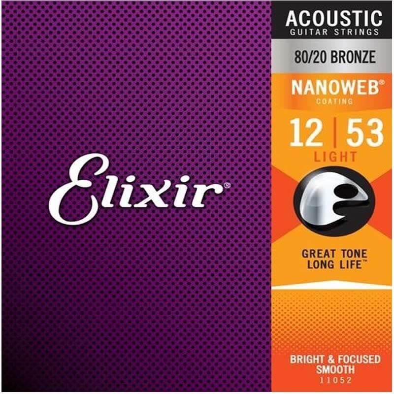 Encordoamento Elixir Light 012 Violão Aço