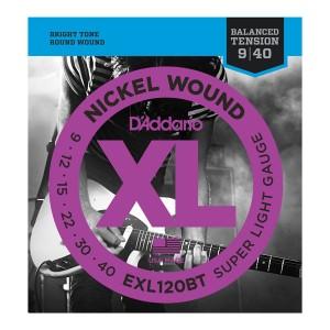 Encordoamento Guitarra Daddario Exl 120 Xl Nickel 9-42