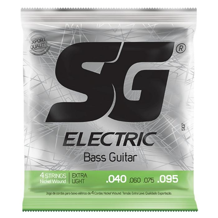 Encordoamento SG para Baixo 0,40 Extra Light