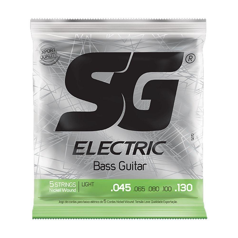 Encordoamento SG para Baixo 0,45 Light 5 Cordas