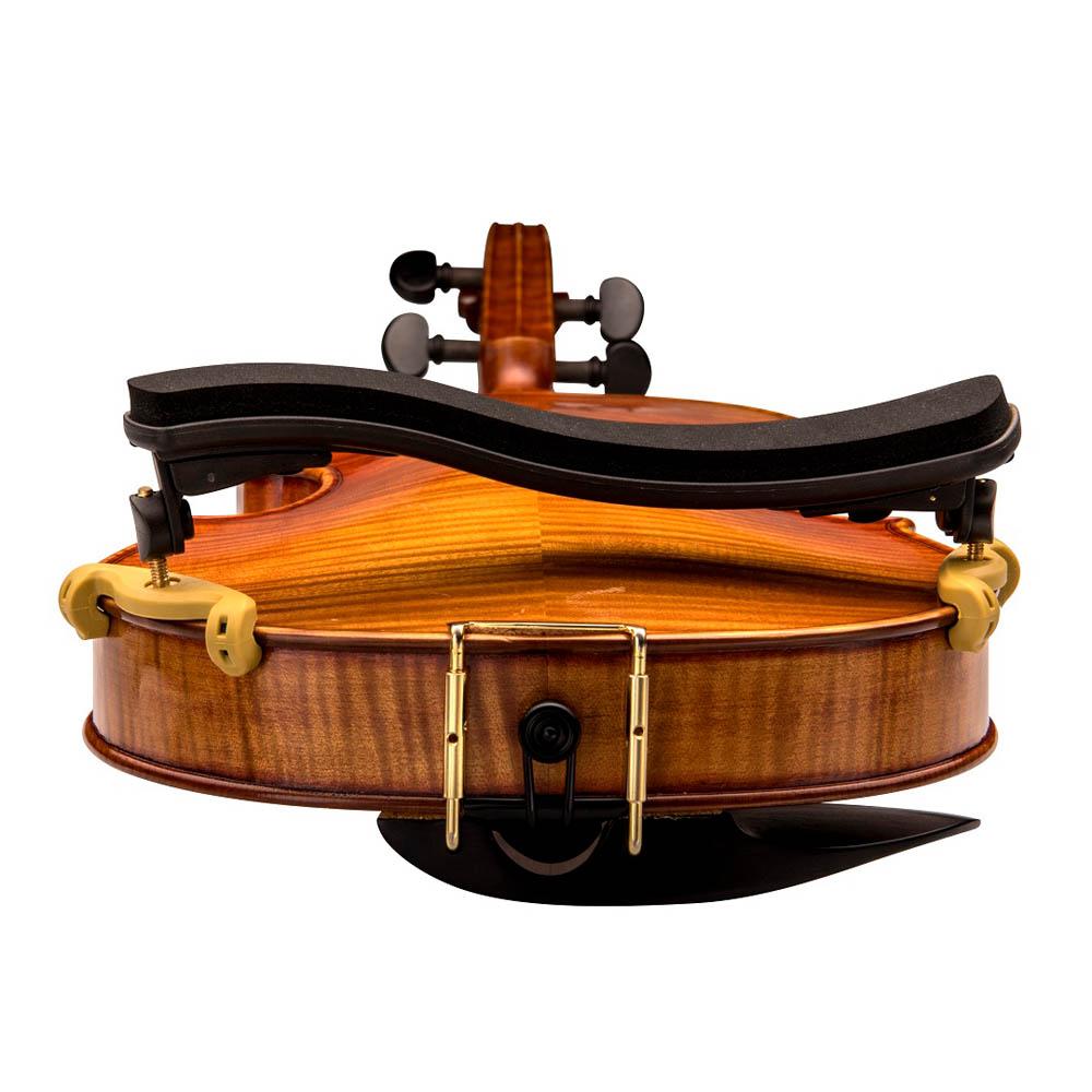 Espaleira Profissional Kapaier 510 Violino 4/4 Estilo Kun Dobrável