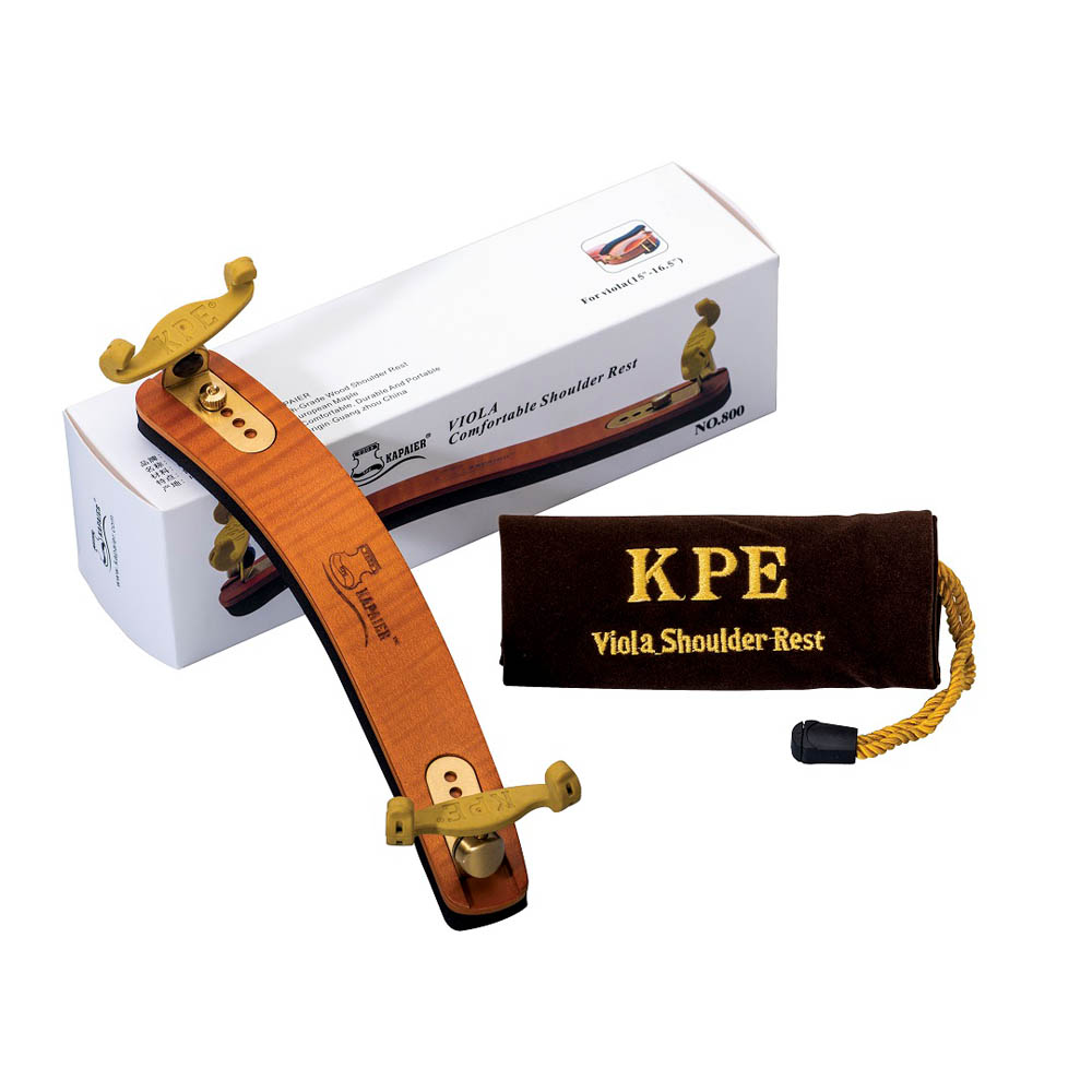 Espaleira Profissional Kapaier 800 Deluxe Viola Estilo Kun Bravo Madeira