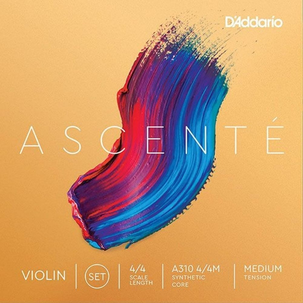 Jogo de Cordas D'addario Ascente A310 Violino 4/4