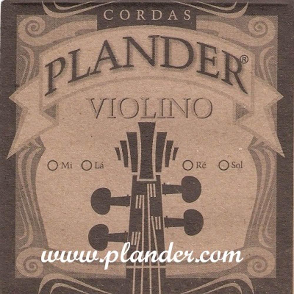Jogo de Cordas Plander Nylon Violino 4/4