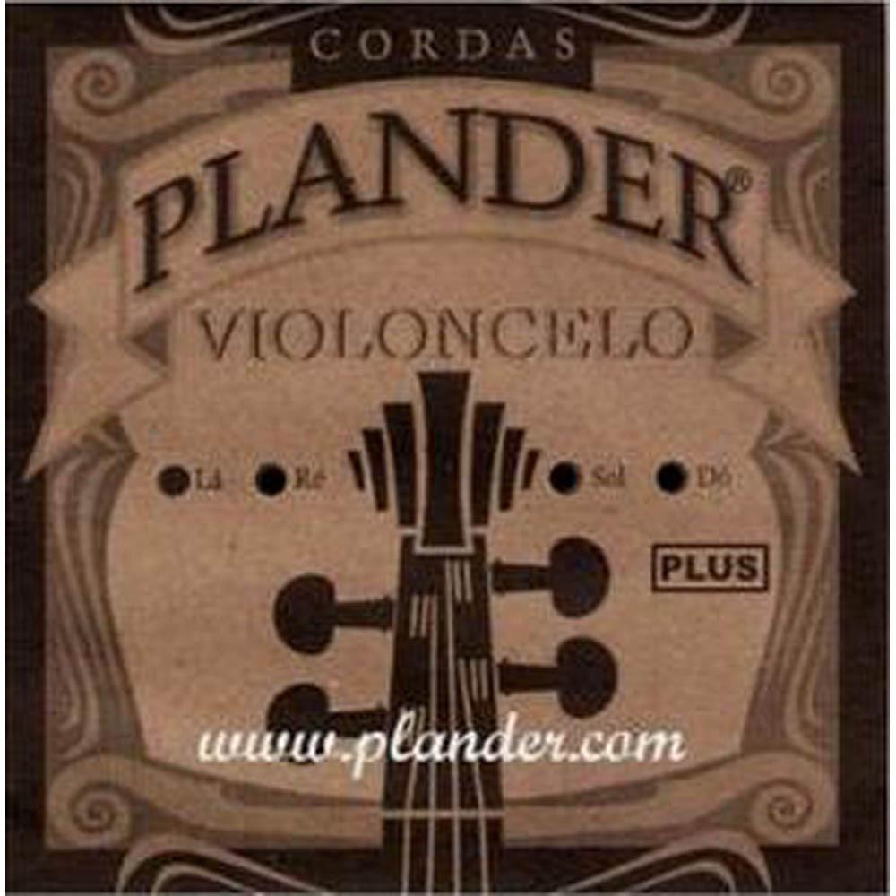 Jogo de Cordas Plander Plus Violoncelo 4/4