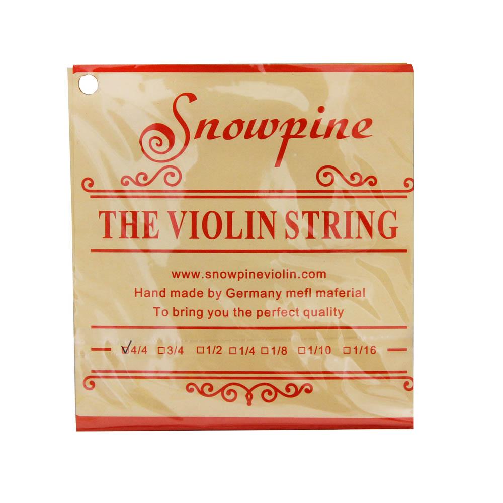 Jogo de Cordas Snowpine Aço Violino 4/4