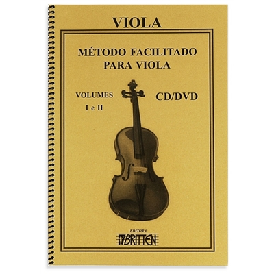 Método Facilitado para Viola Vol. 1 e 2 - Nadilson