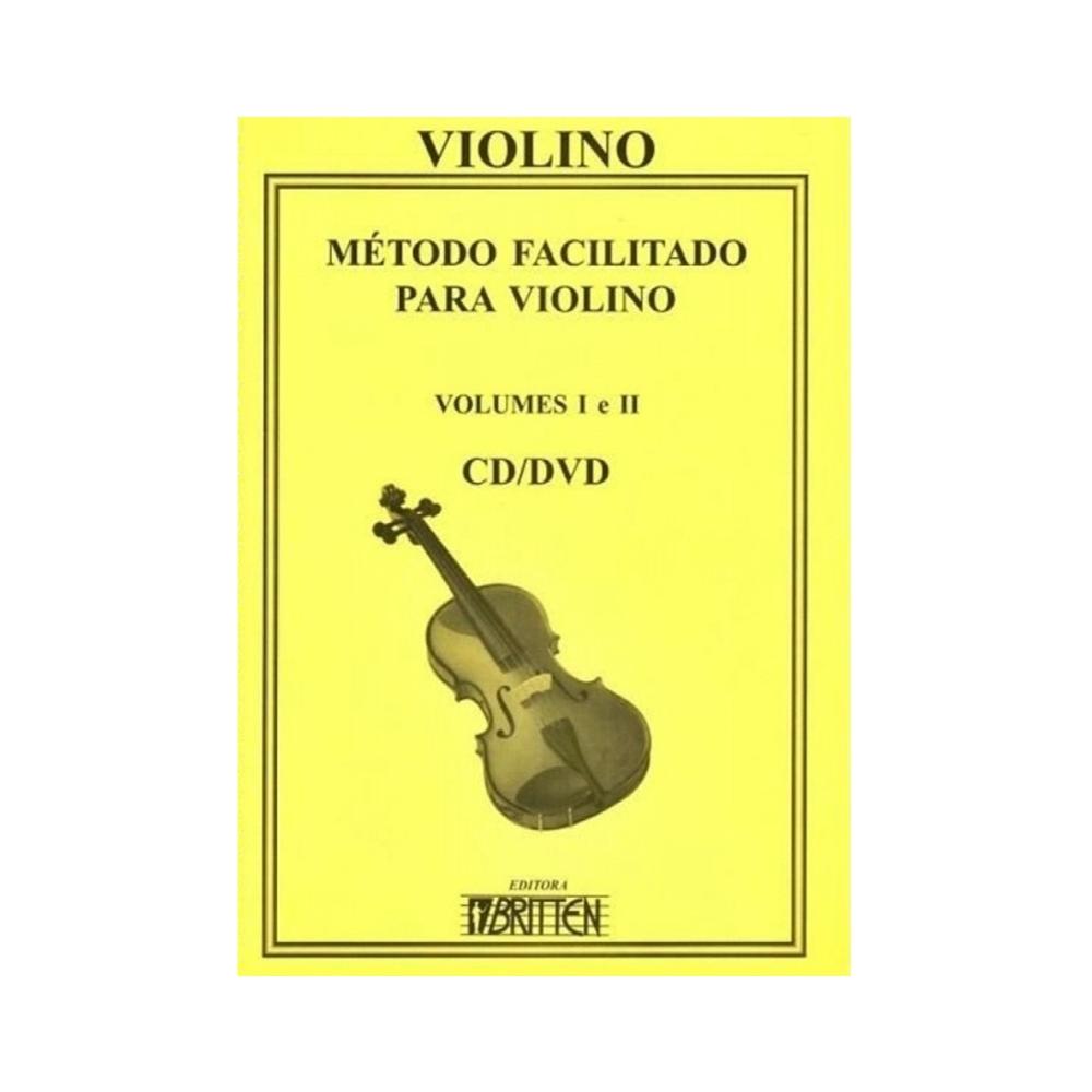 Método Facilitado para Violino Vol. 1 e 2-Nadilson