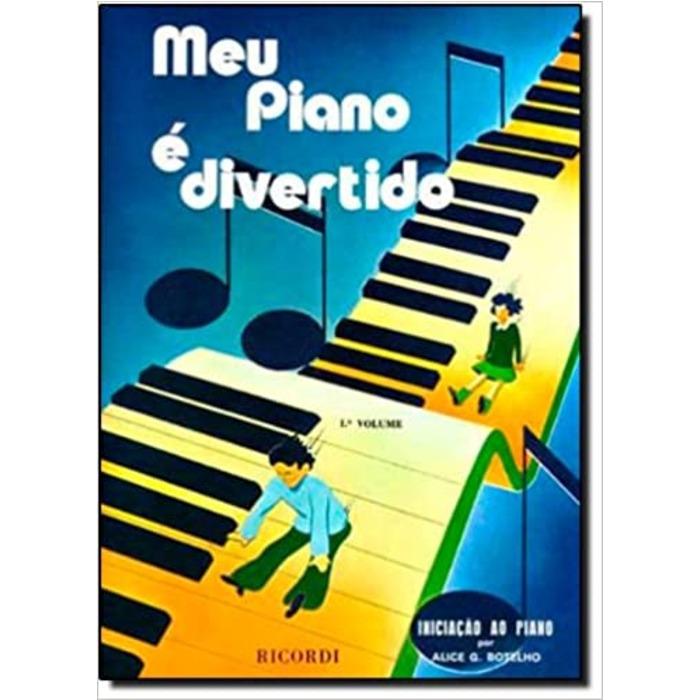 Meu Piano é Divertido, Vol.01 - Botelho, Alice G.