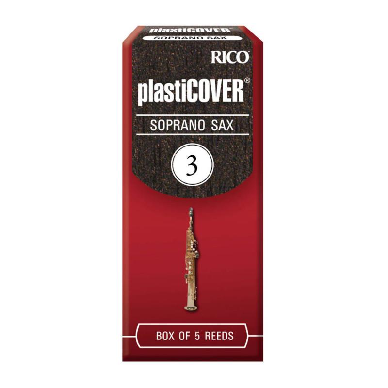 Palheta Plasticover Sax Soprano 3 - Valor Unitário