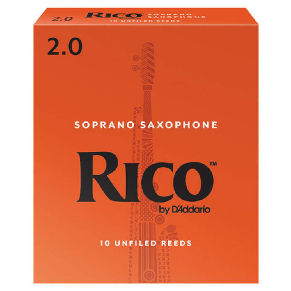 Palheta Rico Básica Sax Soprano 2 - Valor Unitário