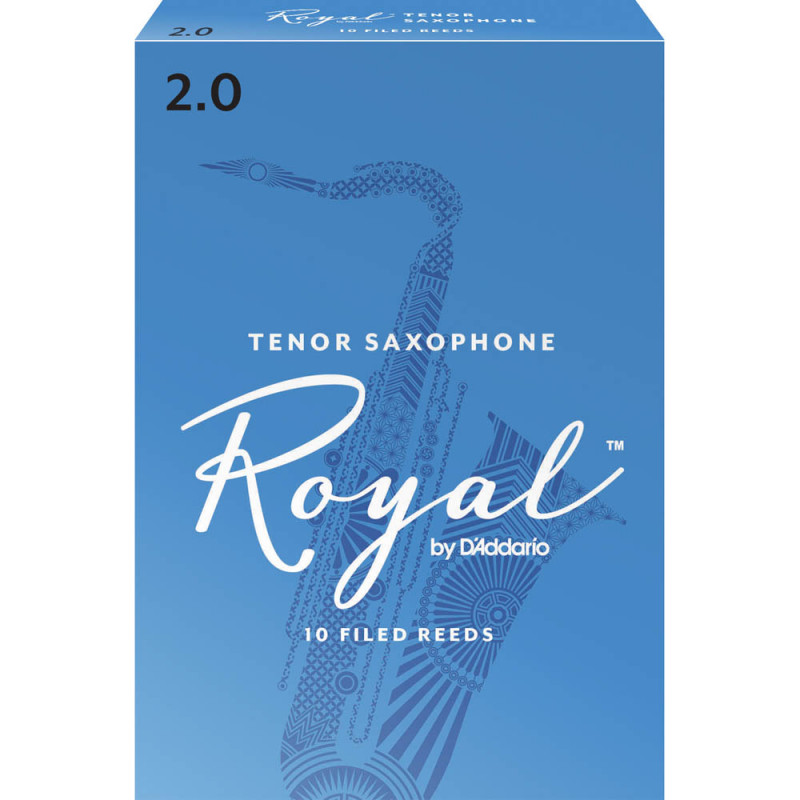 Palheta Rico Royal By D'addario Sax Tenor 2 - Valor Unitário