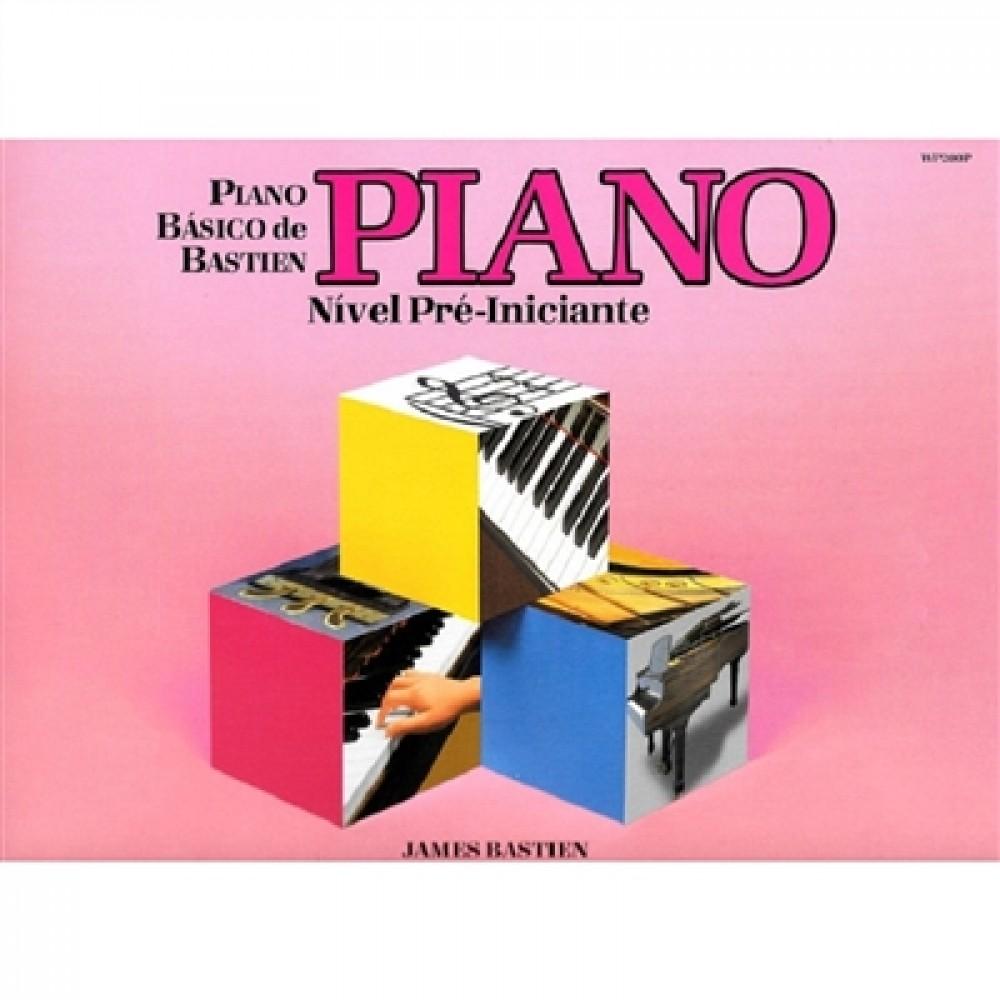 Piano Básico de Bastien - Piano Pré-iniciante