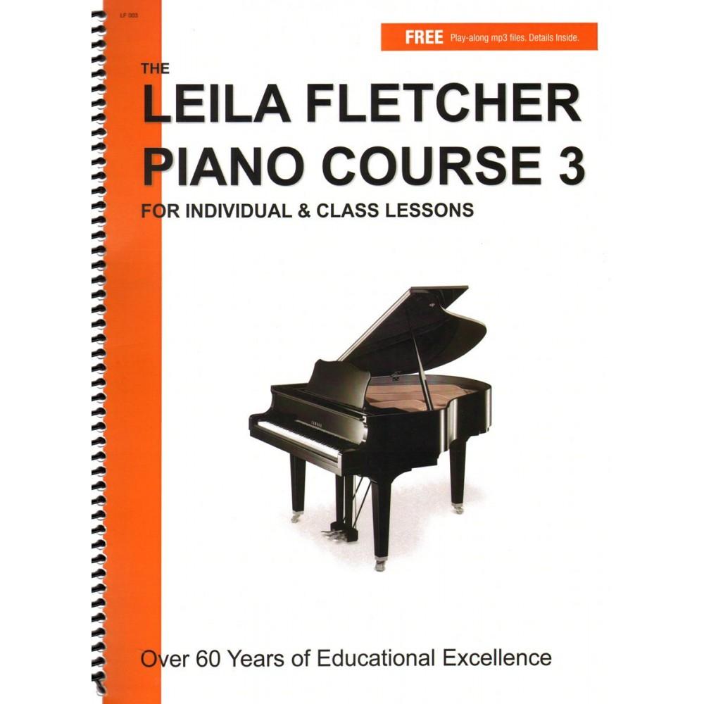 Piano Course Book 3 - Leila Fletcher