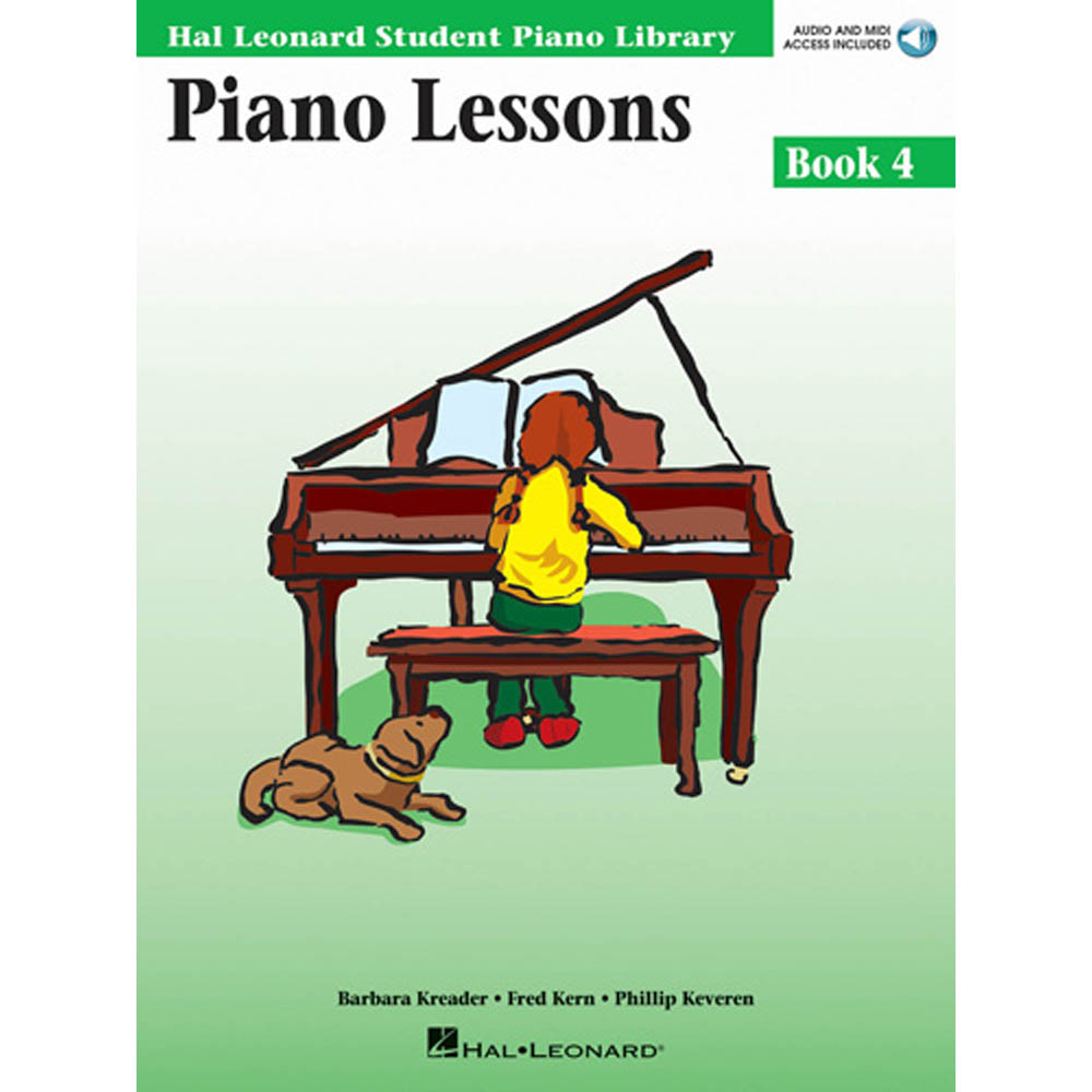 Piano Lessons Book 4 - Inglês