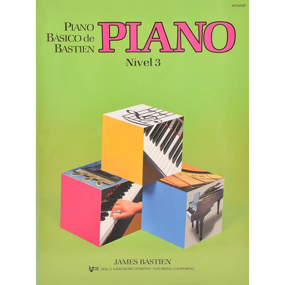 Piano Nível 3 - Piano Básico Bastien